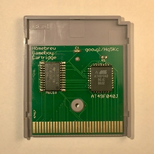 My Homebrew Gameboy Cartridge PCB