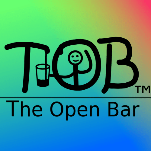 The Open Bar logo